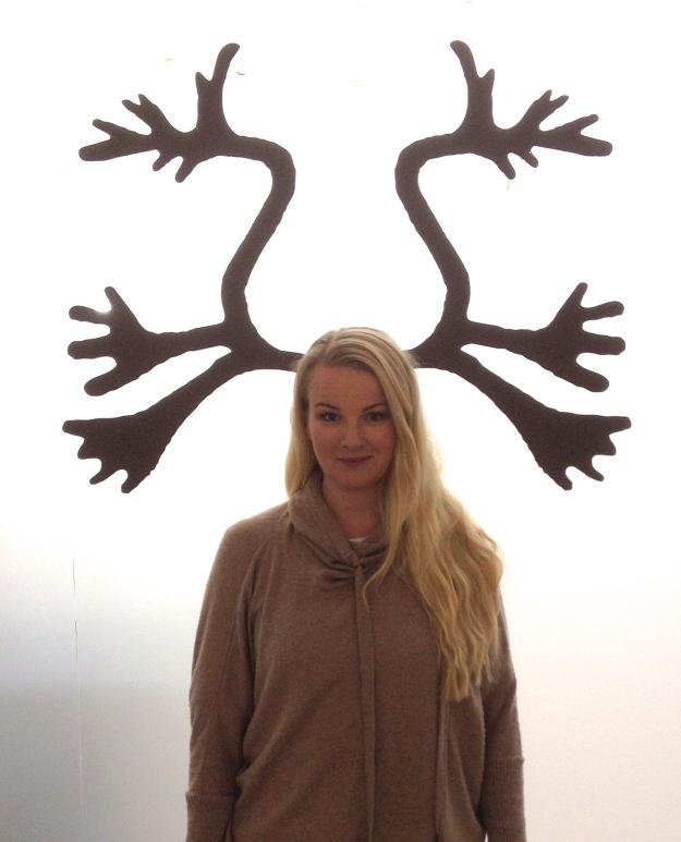 En reindeerselfie